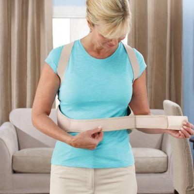 Как правильно надевать и носить корсет для спины?