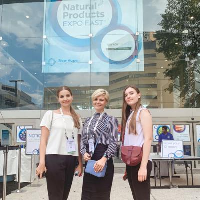 Natural Products Expo East 2019  в Балтиморе, США: о здоровом образе жизни